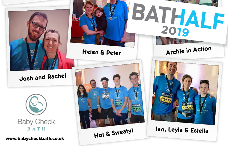 Baby Check Bath runners successfully complete the Bath Half 2019
